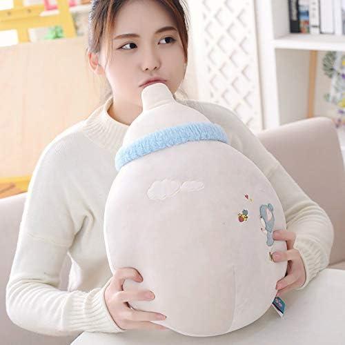 DONGER Kreative Sü Größe Flasche Kissen Spielzeug Geburtstagsgeschenk Bett Puppe, Grau, 45cm