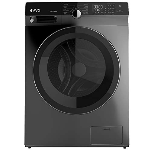 EVVO Lavadora PURE 10DX - 10kg, 1500RPM, Motor eDRIVE con Tecnología Inverter, 14 programas, A+++