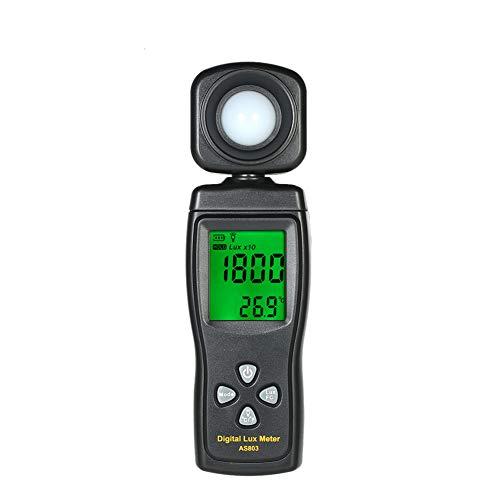 DZSF Handheld Luxmeter Digitales Lichtmessgerät AS803 Luxmeter Photometer UV-Messgerät UV-Radiometer LCD Luxmeter Illuminometer Photometer