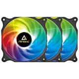 Antec 120mm Case Fan, RGB Case Fans, PC Fan, 4-PIN RGB, F12 Series