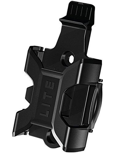 Abus Halter SH Bordo Lite 6055 Transporthalterung Für Fahrradschloss, Black, One Size