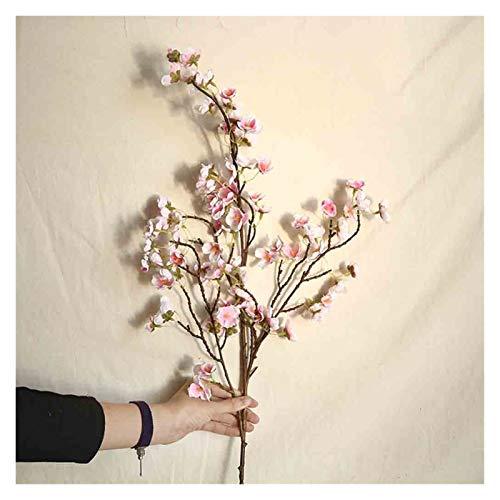 XIAOXUANMY Künstliche Blumen Künstliche Kirsche Pfirsich Blossom Gefälschte Seide Blume Hause Hochzeit Party Floral Decor Gefälschte Blumen Lange Bouquet Herbst (Farbe : B)
