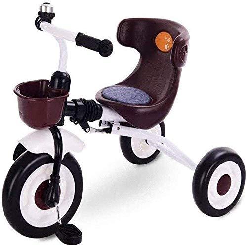 CENPEN Plegables Trike Niños Niños Niños triciclos Bicicletas Kid Trike ToddlersPortable y Seguridad for 1/2/3/6 años de