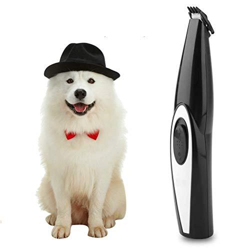 OUTEYE Cortadora de Pelo para Perros, cortadora de Pelo para Mascotas, cortadora de Pelo eléctrica silenciosa Profesional para Perros, cortadora de Pelo, máquina