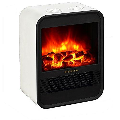 PuraFlame 1250W Clara Mini Portable Heater review
