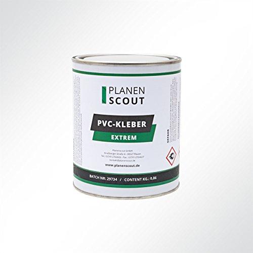 PVC Kleber, Kontaktkleber für Teichfolie, LKW Plane, Planenstoff 860g/1000ml