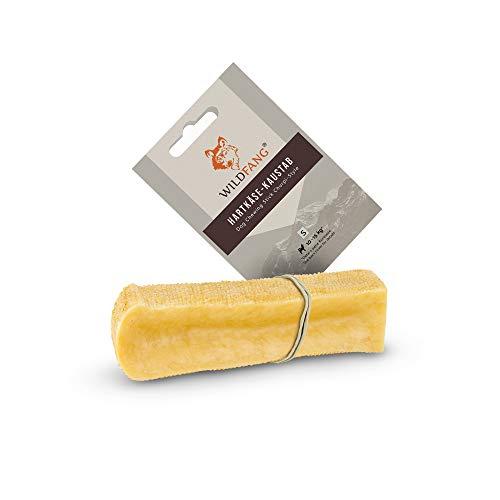 Wildfang® | Kaustab aus Hartkäse für Hunde I Zahnpflege & Kaumuskel Training I Natürliches Kauspielzeug für Hunde (S)