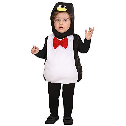 Widmann 1895e ? Bébé Costume Pingouin, Combinaison et Chapeau, Taille Unique
