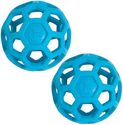 JW Pet HOL ee Roller Original Treat Dispensing Dog Ball Hard Natural Rubber Assorted Colors product image