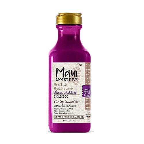 Maui Moisture Heal and Hydrate Shea Butter Shampoo, 385mL