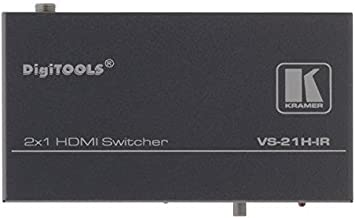 Kramer VS-21H-IR   2x1 HDMI Switcher IR
