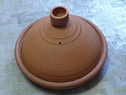 Marokkanische Tajine zum Kochen unglasiert Ø 35 cm für 4-5 Personen - 905703-0002