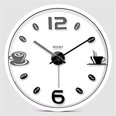 Home Decorations Simple Living Room Wall Clock European Modern Bedroom Wall Hanging Creative Personality Silent Quartz