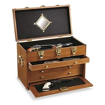 CASTLECREEK 4-Drawer Collector s Chest Walnut