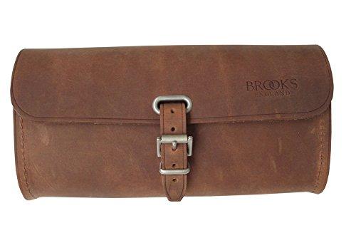 Brooks Challenge Large Leder Satteltasche 1,5l Werkzeug Tasche, Farbe aged