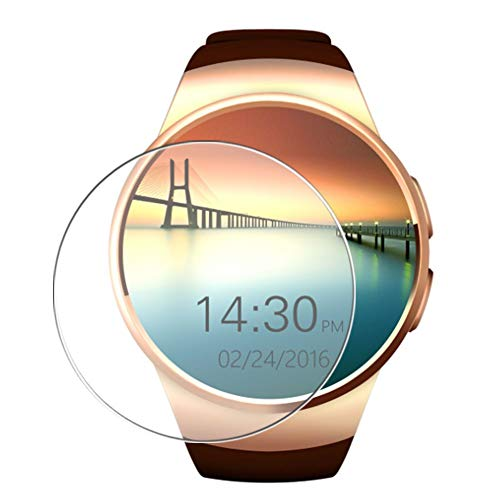 Vaxson 3 Stück Schutzfolie, kompatibel mit Smartwatch smart watch KW18, Displayschutzfolie TPU Folie [ nicht Panzerglas ]