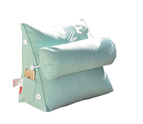 ZXH verstelbare driehoekige rug wigkussen kussen sofa bed bureaustoel rust kussen nek ondersteuning kussen