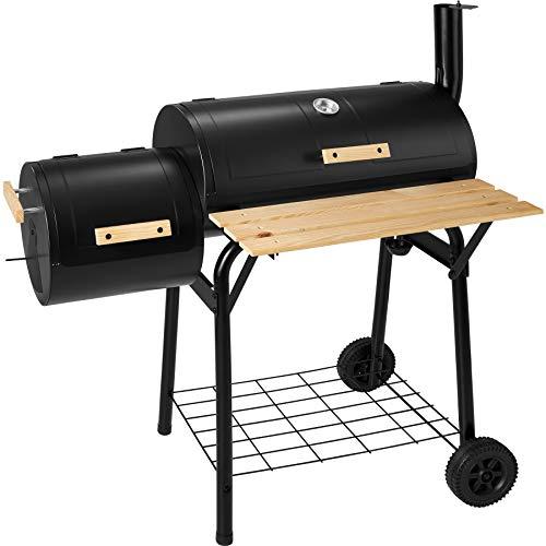 TecTake Barbacoa Barbecue Grill con Carbón Vegetal Parrilla Fumador - Varios Modelos - (Grill con carbón Vegetal Parrilla Fumador | no. 400821)