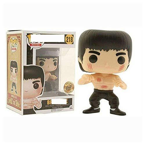 Pop Bruce Lee - Muñeca con Figura de acción, (Pantalones Negros), Multicolor