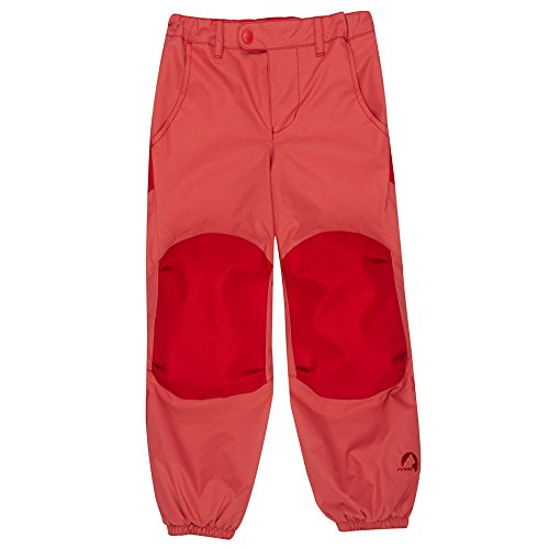 Finkid Huima Plus cranberry red Kinder Outdoor Regenhose