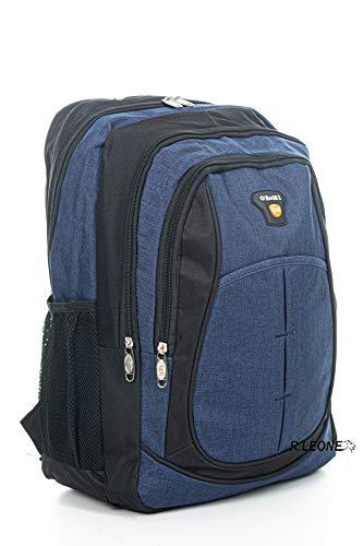 Ormi Zaino per Sport Viaggio Scuola Lavoro per MacBook PRO, iPad e Notebook 15 (Blu)