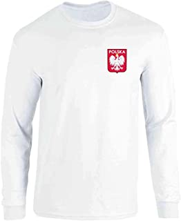 Poland Soccer Retro National Team Sport Football Long Sleeve T-Shirt
