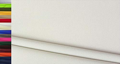 Stoffbook Tejido Nylon Cordura 600D Robusto blanco limpio, C803