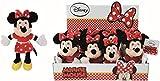 Simba 6315876897 - Figura de Peluche Disney Minnie Red Dress, 20 cm