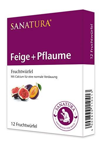 Sanatura Feige-Pflaume Früchtewürfel, 120 g