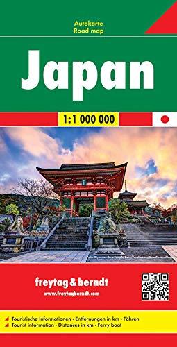 Japan, Autokarte 1:1 Mio.: Wegenkaart 1:1 000 000