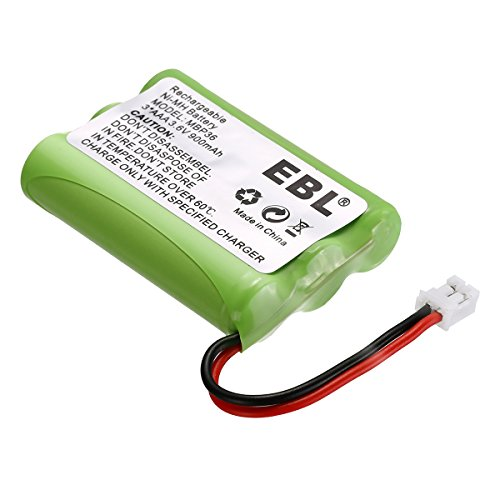 EBL 3.6V 900mAh Replacement Battery for MBP36, MBP27T, MBP33, MBP33S, MBP33PU, MBP36S, MBP36PU Baby Monitor