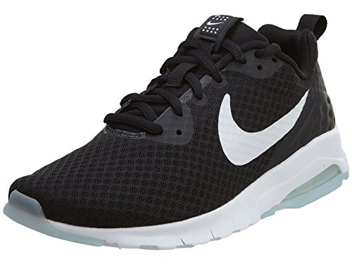 Nike Women's Air Max Motion LW Running Shoe, Black/White, 6.5 M US