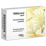 Serenoa Repens MIDAPROST MIDA FARMA | 320 Mg | Con Tè Verde e Magnesio Orotato | 30 Capsule | Per prostatite, ipertrofia prostatica benigna e benessere delle vie urinarie