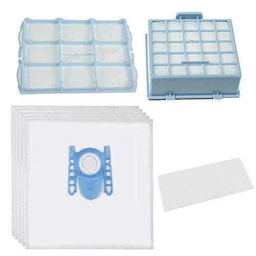 spares2go Staub Taschen und Micro HEPA Filter Kit für Bosch Bosch gl-30BSGL3BSGL4gl-40Serie Staubsauger (Pack 4Taschen und 3Filter)