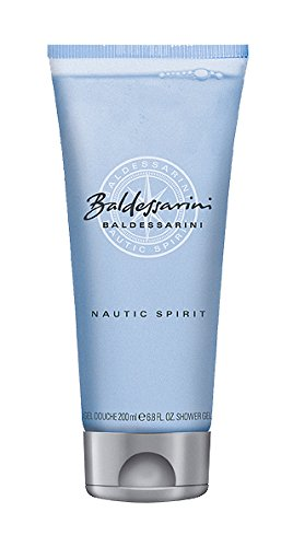 Hugo Boss Baldessarini Nautic Spirit Homme/Men douchegel, 200 ml, per stuk verpakt (1 x 200 ml)