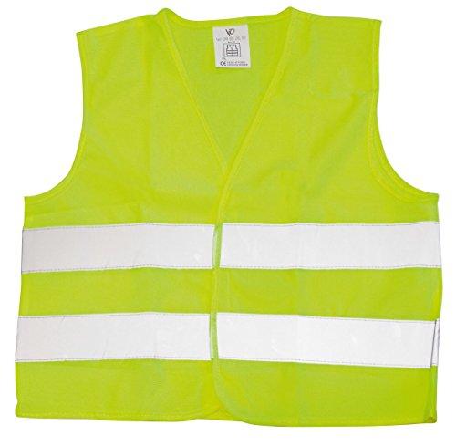 Vip - Chaleco emergencia amarillo, homologación europea.