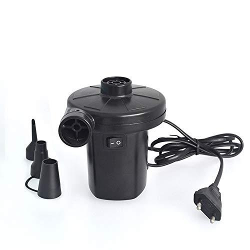 ZXF Tragbare elektrische Luftpumpe for Luftmatratze Boote Puppen aufblasbaren Beutel-Inflator Saug Vakuumpumpen Maschine 3 Düsen 220V EU-Stecker (Voltage : 220V)
