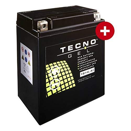 Gel Batería yb14l de A2para Benelli 500500LS Diseño Año 1977–1980de Tecno