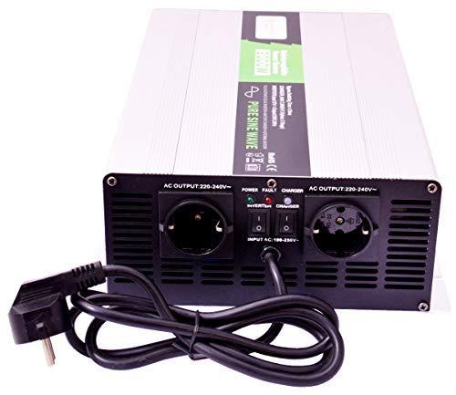 solartronics Spannungswandler USV 12V NPS 2000/4000 Watt Reiner Sinus UPS Inverter