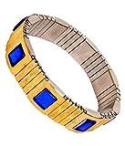 NP Magnetic Bracelet- Blood pressure controller For Men & Women (Free Size) (BLUE)