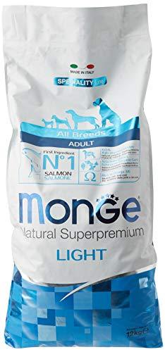 All Breeds Adult Light, Cobo Secco Salmone e Riso 12 kg