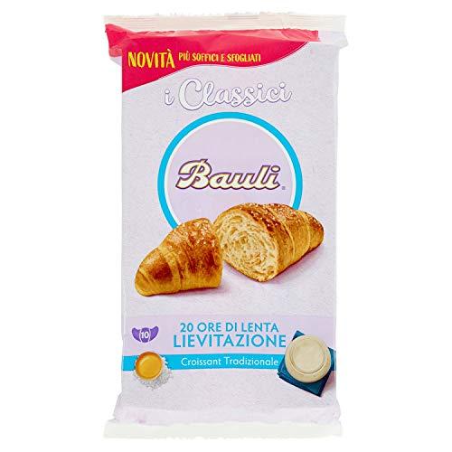Bauli Croissant Classico, Più Soffici e Sfogliati, Confezione da 10 x 40g