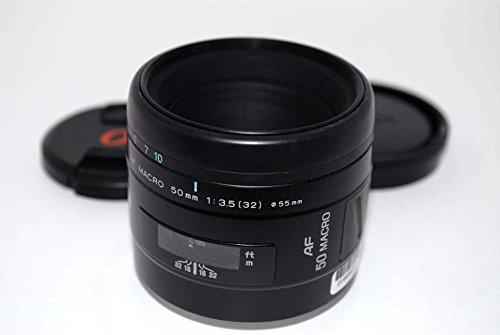 Minolta Maxxum AF 50mm f/3.5 macro lens