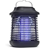 Bug Zapper,2 in 1 Mosquito Zapper for Outdoor and Indoor,High Powered Waterproof Mosquito Killer ,4200V Electronic Mosquito Lamp for Home, Garden