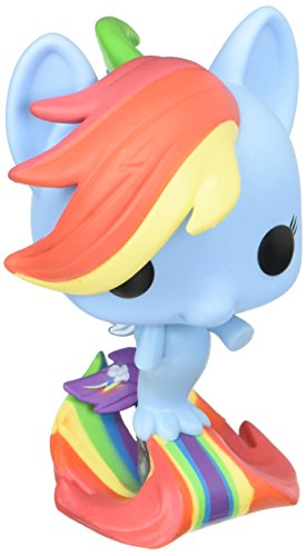My Little Pony-21641 MLP Movie Figura de Vinilo Rainbow Dash Sea Pony, Multicolor (Funko 21641)