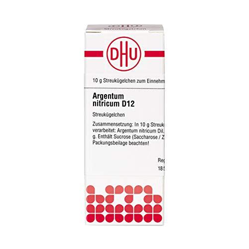 DHU Argentum nitricum D12 Streukügelchen, 10 g Globuli