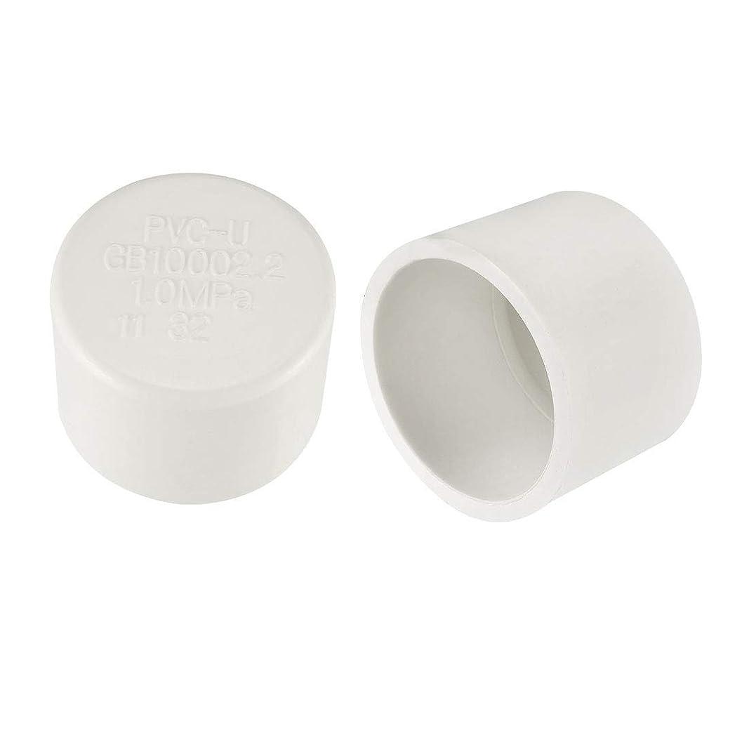 ポーズに対してコメントeDealMax 32 mm PVCパイプキャップ継手、スリップソケット外部エンドキャップ10個