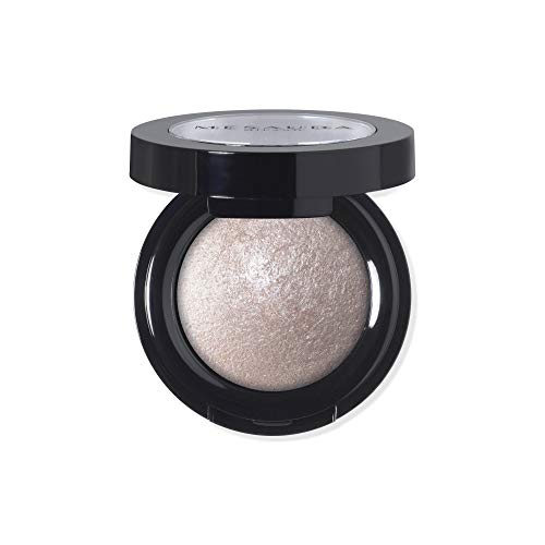 MESAUDA Milano Luxury Eyeshadow Lidschatten gebacken 308Golden Topaz Paraben Free