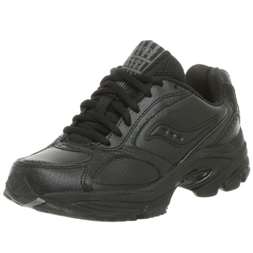 Saucony womens Grid Omni Walker - walking shoes, Black, 6 Narrow US