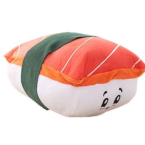 cuscino sushi Resin Salmon Sushi Peluche di Kawaii Alimentari Cuscino Cucina Divano Ristorante Vetrina Decorativo Cuscino Sushi Pillowsushi Cuscino Peluche Giocattoli